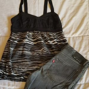 510 Levi's shorts size 20 bundle